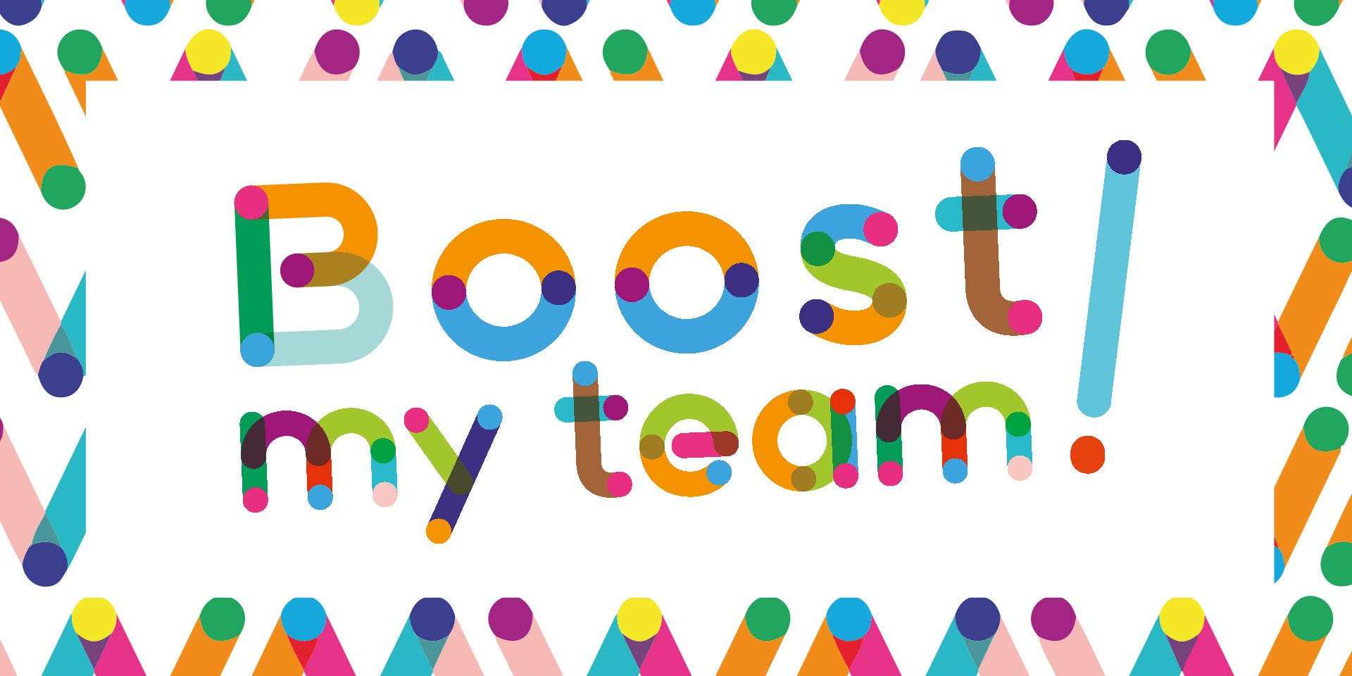 Logo cool Boost My Team!